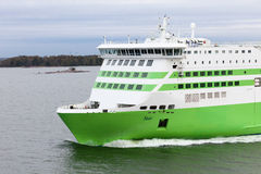 HELSINKI, FINLAND-MAY 16: the TALLINK STAR ferry sails from Hels Royalty Free Stock Images