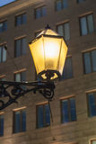 HELSINKI, FINLAND - NOVEMBER 12: nacht Helsinki, 12 Finland-NOVEMBER 2016 Royalty-vrije Stock Afbeelding