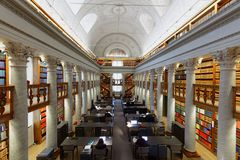 Interior of the National Library of Finland Royalty Free Stock Image