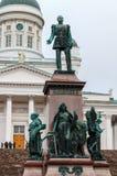 HELSINKI, FINLAND-OCTOBER 27, 2018: Zabytek Rosyjski Empe obrazy stock