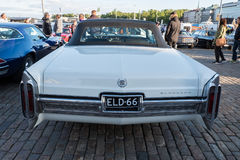 Helsinki, Finland Old car Cadillac Eldorado Royalty Free Stock Images