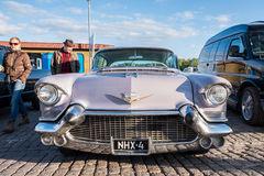 Helsinki, Finland Old car Cadillac Eldorado Stock Photography