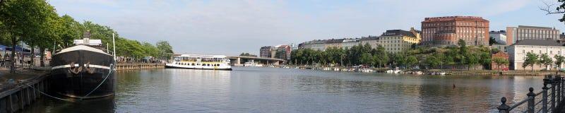 Helsinki, Finland. Panoramic view Royalty Free Stock Photos