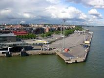 Helsinki, Finland, passenger mooring Royalty Free Stock Image