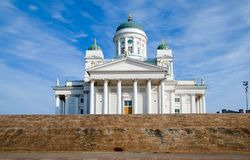 Helsinki Cathedral. Finland Stock Photography
