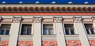 Art Nouveau architecture. HELSINKI, FINLAND SEPTEMBER 25 2015: Influenced by Classicism and modernised by Functionalism, Helsinki is also known for its Art stock images