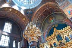 Helsinki. Finland. Uspenski Cathedral Stock Photo