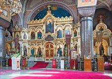 Helsinki. Finland. Uspenski Cathedral Royalty Free Stock Photo