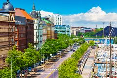 Helsinki, Finlandia Fotografia Stock Libera da Diritti