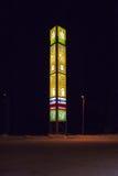 HELSINKI, FINLANDIA - 12 DE NOVIEMBRE: gasolinera del automóvil ABC, FINLANDIA 12 de noviembre de 2016 Foto de archivo libre de regalías