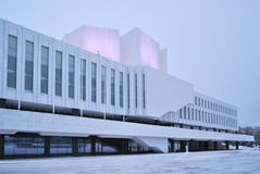Helsinki. Finlandia Hall Stock Images