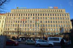 Helsinki, Finlandia, miasto widoki Obrazy Royalty Free