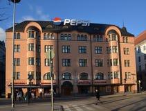 Helsinki, Finlandia, opiniones de la ciudad Imagen de archivo