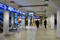 HELSINKI FINLANDIA, PAŹDZIERNIK, - 27: terminal łatwość prom firmy Peter linia w Helsinkii, Finlandia PAŹDZIERNIK 27 2016 Obraz Stock