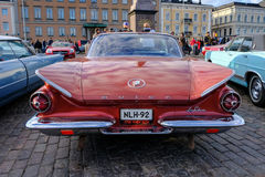 Helsinki, Finlandia Stary samochodowy Buick Obraz Royalty Free