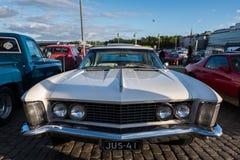 Helsinki, Finlandia Stary samochodowy Buick Riviera Obraz Royalty Free