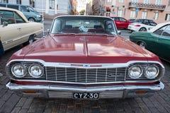 Helsinki, Finlandia Stary samochodowy Chevrolet Obraz Stock