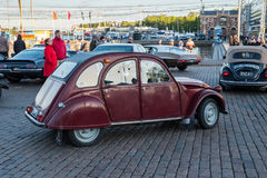 Helsinki, Finlandia Stary samochodowy Citroen Zdjęcia Stock