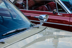 Helsinki, Finlandia Stary samochodowy Dodge Obraz Royalty Free