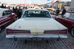 Helsinki, Finlandia Stary samochodowy Dodge Obrazy Royalty Free