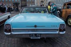 Helsinki, Finlandia Stary samochodowy Ford Obraz Royalty Free