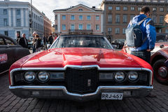 Helsinki, Finlandia Stary samochodowy Ford Zdjęcia Royalty Free