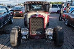 Helsinki, Finlandia Stary samochodowy Ford Fotografia Royalty Free
