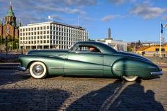 Helsinki, Finlandia Stary samochodowy Mercury Obrazy Royalty Free