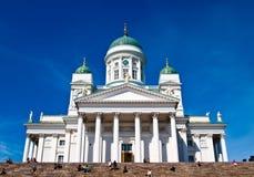 Helsinki.Finlyandiya. Sankt- Nikolauskathedrale. Lizenzfreies Stockfoto