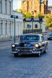 Helsinki, Finnland, altes Cadillac Stockfotografie