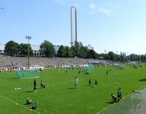 Helsinki football tournament Stock Photo