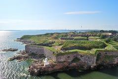 Helsinki, fortezza di Suomenlinna immagine stock