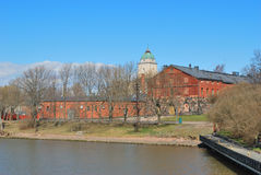 Helsinki, fortress Suomenlinna Stock Photos