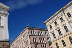 Helsinki-Gebäude Stockfotos