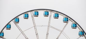 Helsinki: the giant panoramic wheel royalty free stock photography