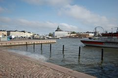 Helsinki-Hafen Lizenzfreies Stockbild