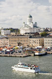 Helsinki harbor Stock Images
