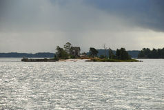 Helsinki harbor island, Finland Stock Image
