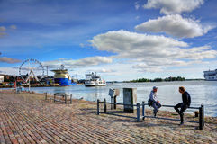 Helsinki Harbour Royalty Free Stock Images