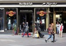 Helsinki, Hard Rock Cafe Royalty Free Stock Image