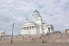 Helsinki: helsinki cathedral Royalty Free Stock Photography