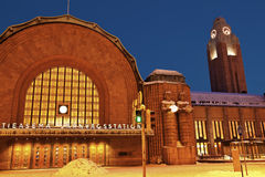 helsinki huvudstationsdrev Fotografering för Bildbyråer
