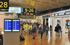Helsinki International Airport Royalty Free Stock Photos