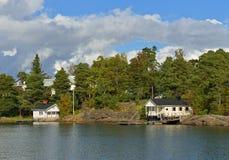 Helsinki island Stock Photography