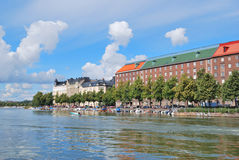 Helsinki. Kaisaniemi bay Royalty Free Stock Photography