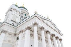 Helsinki katedra Zdjęcia Royalty Free