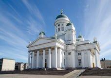 Helsinki katedra, Finlandia w lecie Zdjęcie Royalty Free