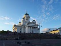 Helsinki katedra i senata kwadrat, Finlandia obrazy royalty free