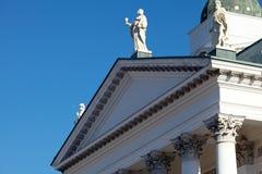 Helsinki Katedralny szczegół Zdjęcie Royalty Free