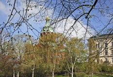 helsinki katedralny uspenski Finlandia obraz royalty free